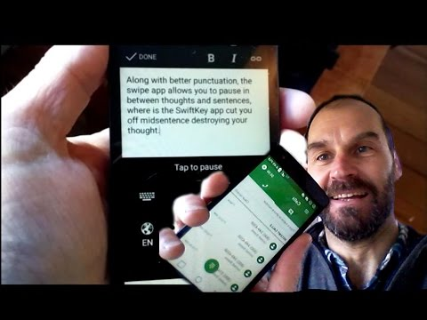 Speech-to-Text Dictation With Swype + Dragon 🐉 App
