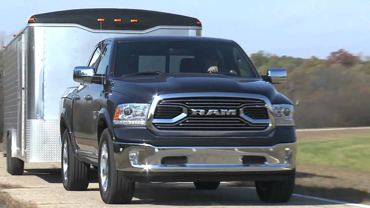 How Much Can A Ram 1500 Tow >> 2016 Ram 1500 Towing And Hauling Footage