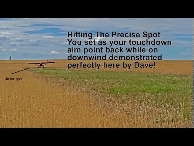 Dave landing practice @ Platte Valley Airpark in Colorado