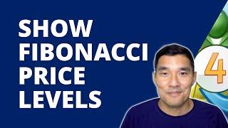 How to Add the Exact Forex Price to Fibonacci Retracement Levels - Metatrader 4 Tutorial