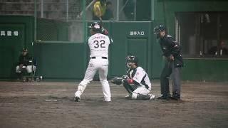 山崎貴之 選手 2018/04/11【猛打賞2安打目】vs群馬at小山(栃木ゴールデンブレーブス)