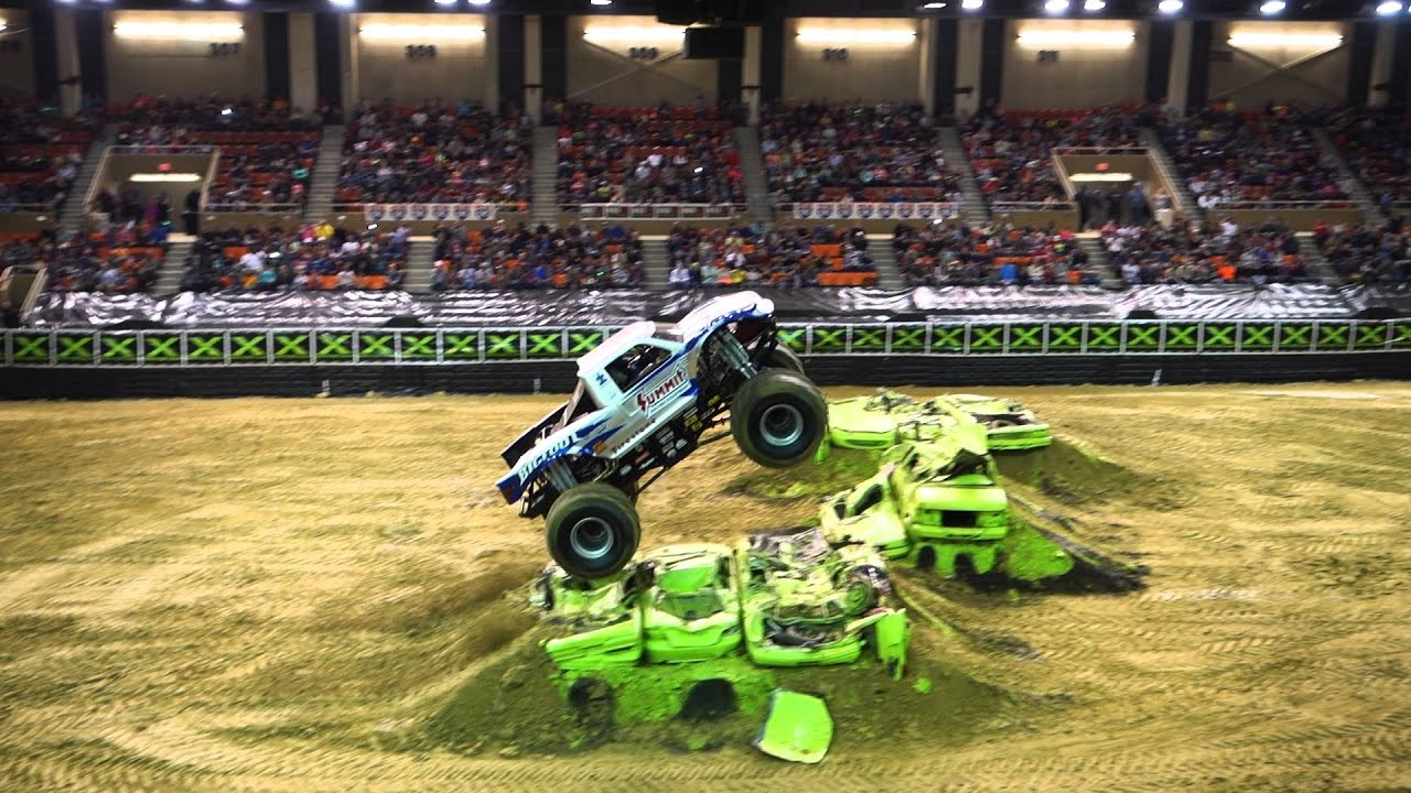 BigFoot Freestyle Monster Truck Destruction Tour 2 27 16