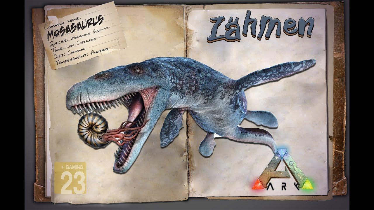 ark survival evolved guide deutsch mosasaurus