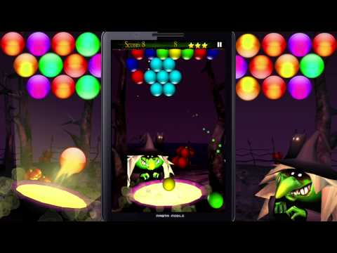 BubbleShoot Halloween - Magma Mobile Game