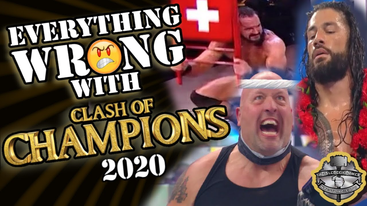 Download WWE Clash of Champions 2020 Full Show Results   WWE Clash of Champions 2020 Reactions