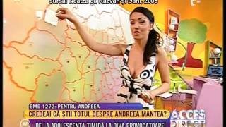 Andreea Mantea, la debut!