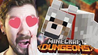 I SUMMONED MY MINECRAFT DOG   Minecraft Dungeons #2