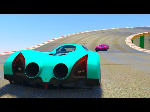 SÚPER MEGA VELOCIDAD PROPULSADA! - CARRERA GTA V ONLINE - GTA 5 ONLINE thumbnail