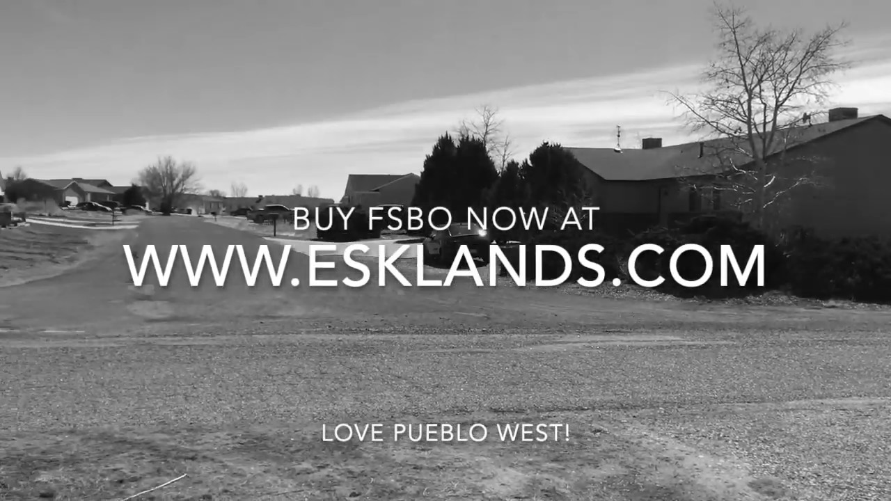 FSBO ready to build lot in great location, Pueblo West, CO!