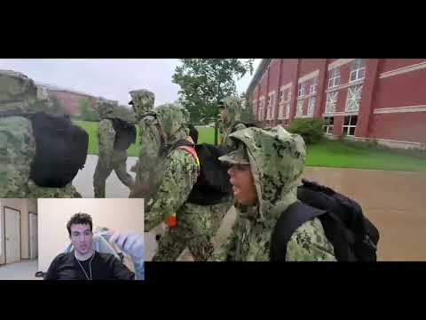 This Navy Bootcamp Cadence Is EDGY! (never Before Seen Boot Footage 2019) -reaction