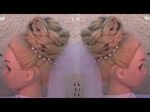 1  New wedding Hairstyles , how to do bridal hair by amal hermuz
