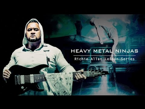 Heavy Metal Ninjas / Richie Allan: Design Lesson