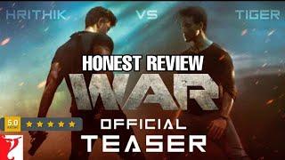 War Movie Teaser Out Now, War Teaser Honest Review & Reaction, Hrithik Vs Tiger, Vani Kapoor, War