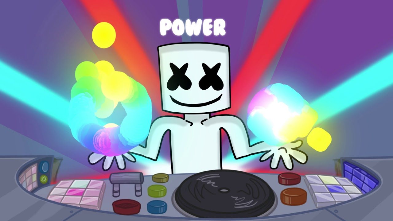 Marshmello Power Joytime