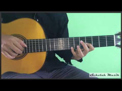 Belajar lagu Untuk Perempuan Yang Sedang Dalam Pelukan dari Payung Teduh lengkap melodi tengah