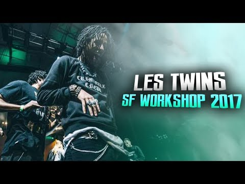 LES TWINS | 2017 CITY DANCE LIVE SF WORKSHOP | RAW FOOTAGE