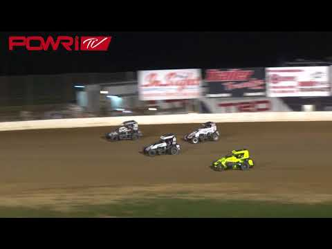 9/1/18 POWRi Lucas Oil National Midgets at Lake Ozark Speedway Highlight
