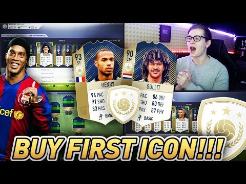 FIFA 18: Das erste BUY FIRST ICON OMG!! 😱🔥😱 Full Icon Team Buy First Guy 💎Ultimate Team