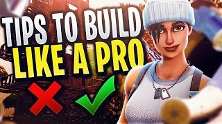 How to Build like a PRO In Fortnite Battle Royale | Building Tips with Pro Player Noizeeh | Method