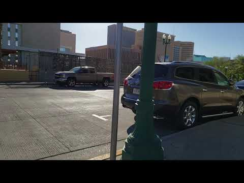 Let's Take A Walk In Downtown El Paso, Texas May 15, 2019 Treadmill Video With Sound