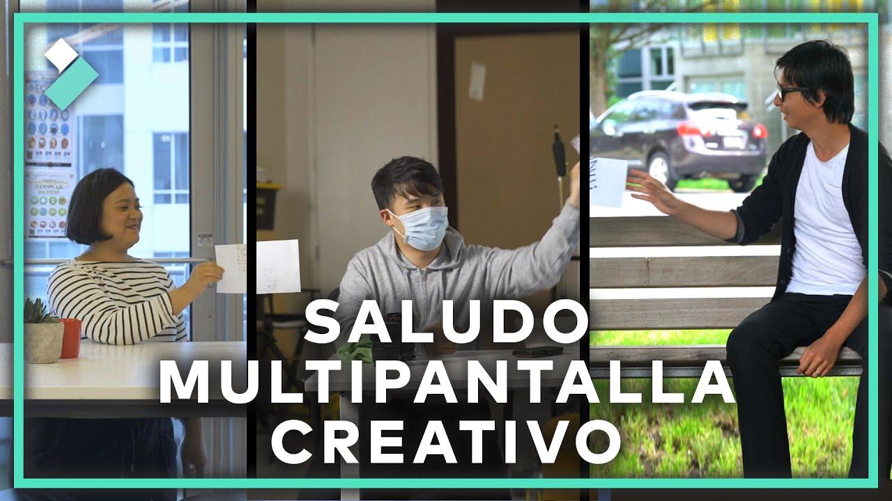 🤯Felicitación Multipantalla Creativa | Filmora X