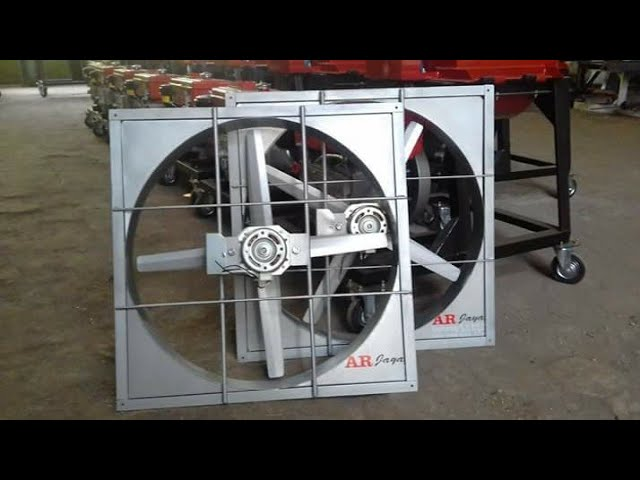 Multifan/Exhaust fan kandang ayam close house bahan full besi ukuran 27.5 inch - Kipas kandang
