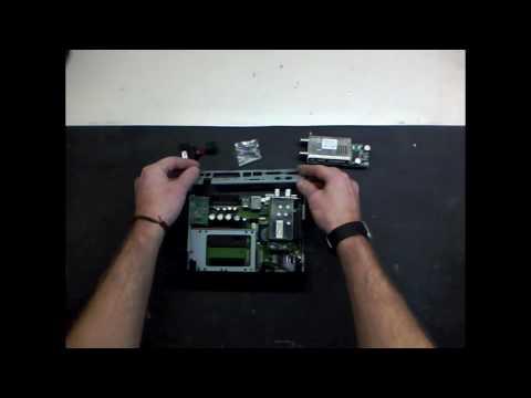 Dreambox 800 Kabeltuner Einbauen