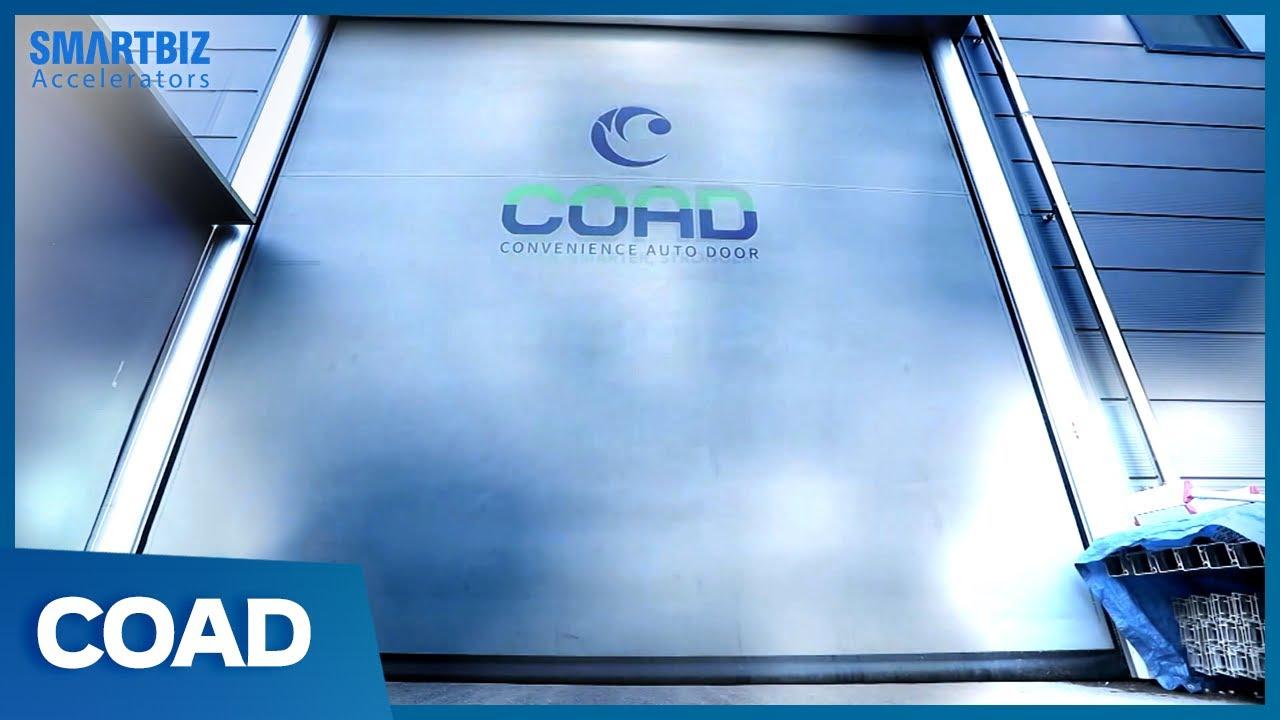 Download [SmartBiz Accelerators] COAD, providing safe automatic doors with sophisticated and sensuous designs