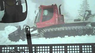 Snow 50 feet deep buries road to Artist Point -- June 29, 2011