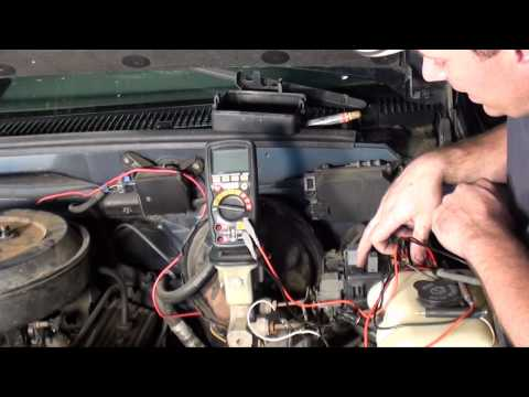 Computer/fuel pump relay and fuse location on a 89to91 - YouTube