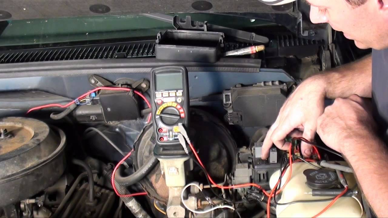 1991 Chevy 1500 Fuel Pump Relay Location