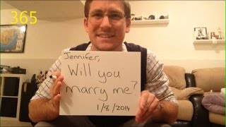 Watch This Man Propose to His Girlfriend Every Day for A Year