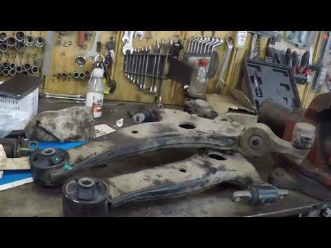 Замена сайлентблоков переднего рычага.Hyundai Sonata 4.