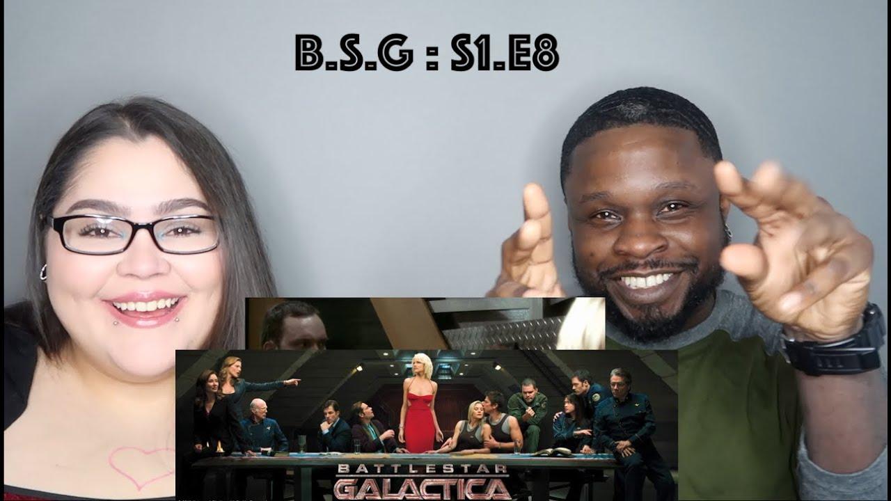 "Download Battlestar Galactica Season 1 Episode 8 ""Flesh and Bone"" Jae's Reaction"