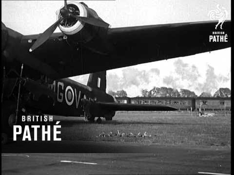 Stirling Bombers First Pictures (1941)