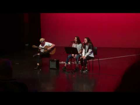 VCASS students open mic for ABC's & Rice perform Georgia by Vance Joy