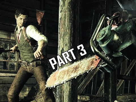 The Evil Within Walkthrough Part 3 - Chainsaw Boss (PC Ultra Let's Play Commentary)