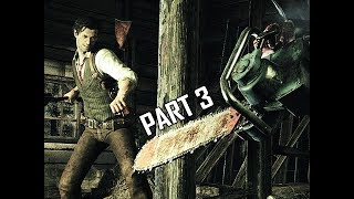 The Evil Within Walkthrough Part 3 - Chainsaw Boss (PC Ultra Let