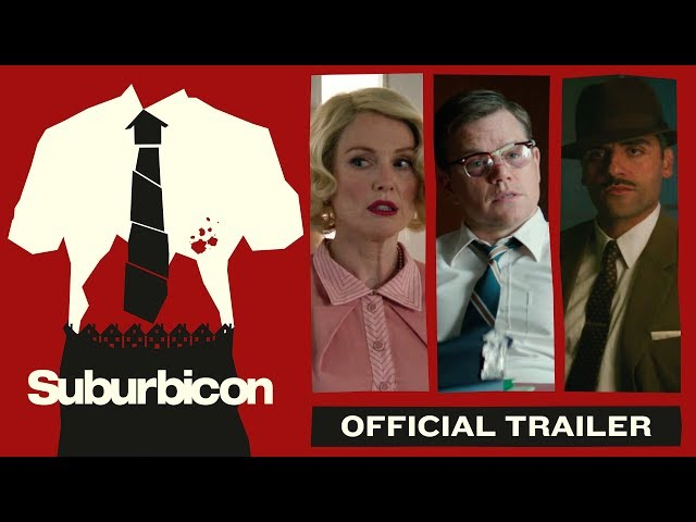 Suburbicon (2017) - Official Trailer - Paramount Pictures