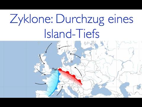 Das dynamische Tiefdruckgebiet a.k.a. die Zyklone - Der Durchlauf eines Island-Tiefs in Europa