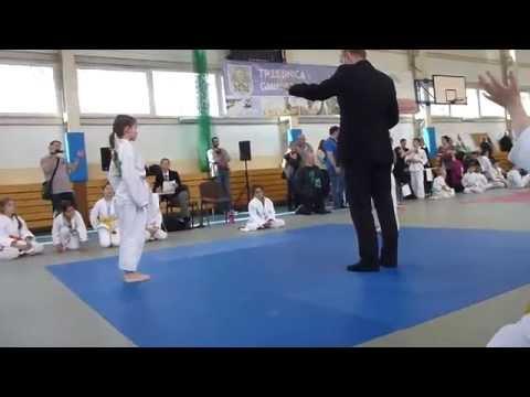 Wiki - 2 walka - turniej JUDO - Trzebnica 12.04.2014