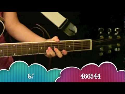 """Love You Like A Love Song"" - Selena Gomez Guitar Tutorial/Chords (No Capo)"