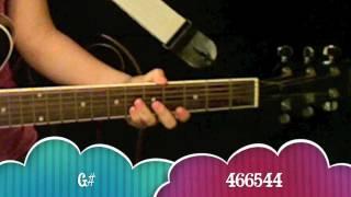 """Love You Like A Love Song"" - Selena Gomez Guitar Tutorial/Chords (No Capo)"