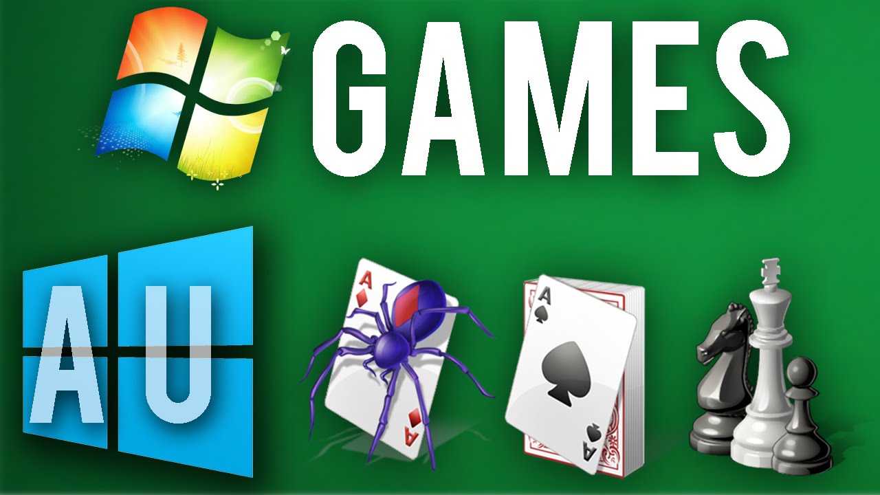 Get Windows 7 Games In Windows 10 Au Working In