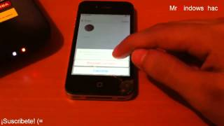 Alternativa Saltar Registro iOS 7 (ID iCloud) 4/4s/5/5S Sin Jailbreak