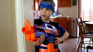 Nerf War:  Payback Time 4