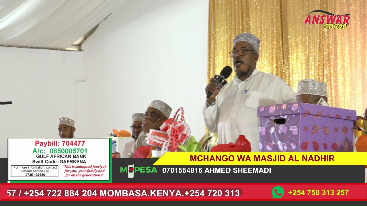 Download MCHANGO WA MASJID AL NADHIR ULIOKO MJI WA NDAU- LAMU COUNTY PT 1