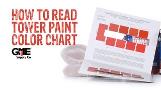 Tower Paint Color Chart How-to - GME Supply