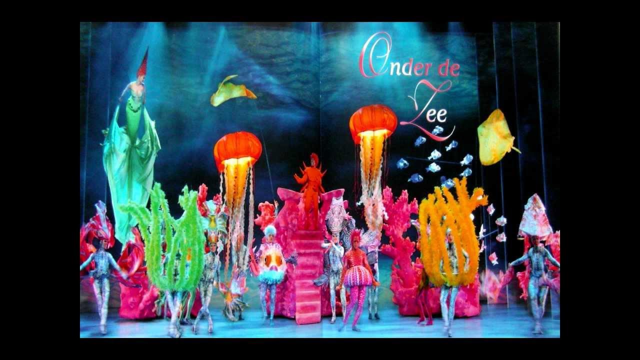 The Little Mermaid Musical Nl Onder De Zee Live Youtube