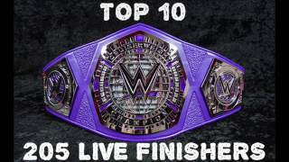 Top 10 ‐ 205 Live Finishers